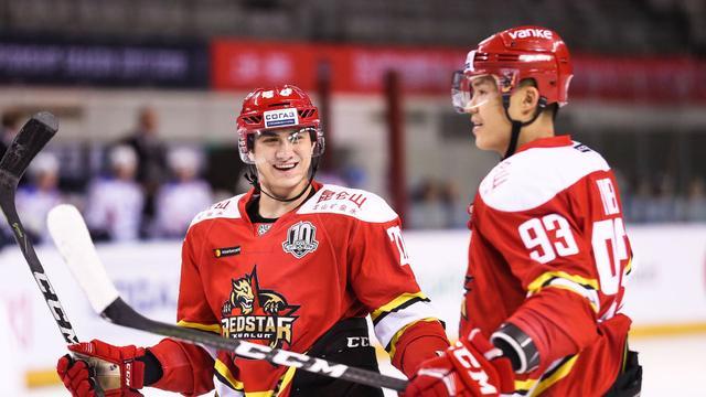 KHL昆仑鸿星点球憾负马钢城 主场连胜遭终结