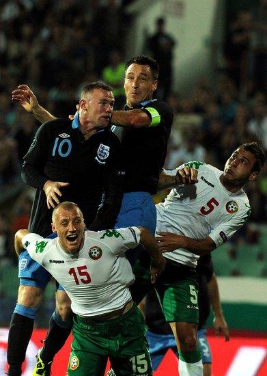 欧预赛-英格兰3-0保加利亚 鲁尼两球铁卫破门