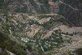川藏中典型川西风景 荒山梯田处总有勤劳人儿