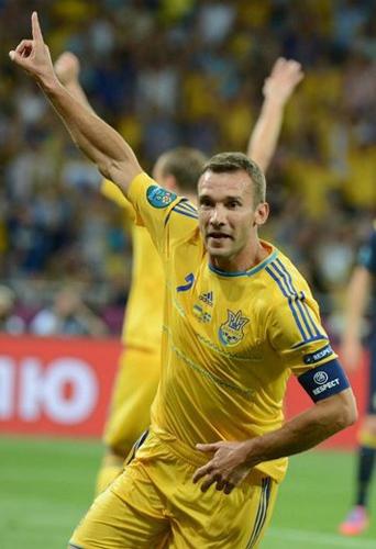 欧洲杯盘点乌克兰篇:小组遭淘汰 舍瓦的告别