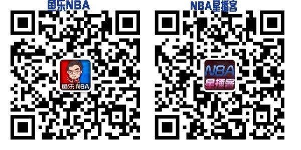 扫描二维码,收听《鱼乐NBA》和《篮球星播客》微信