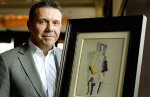 男子买艺术彩票 中100万欧元毕加索画作 图