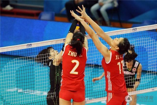 女排世锦赛中国3-2险胜日本 五连胜小组第一