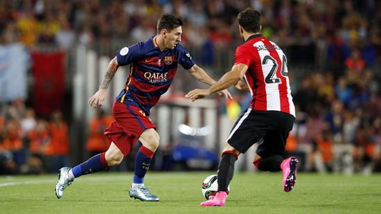 Messi refresh the Spanish Super Cup record