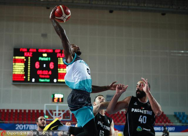 篮球亚冠-阿斯塔纳轻取拉姆安拉 送对手出局