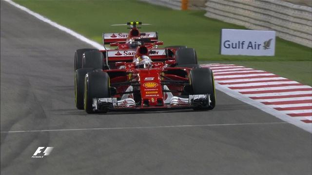 F1巴林站:维特尔赛季第二冠 小汉受罚获亚军