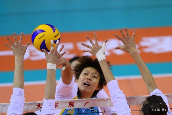 天津女排客场3-1逆转浙江 把握晋级4强主动权