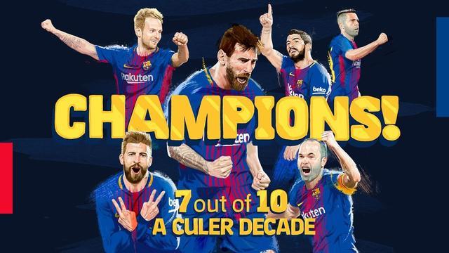 近10年第7个西甲冠军