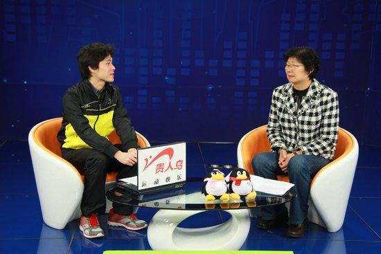 杨玛琍做客腾讯:世界杯女排惊喜 男排获经验