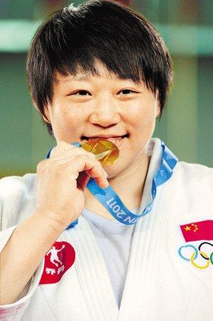 秦茜:赛前没想过金牌 下一目标剑指伦敦奥运