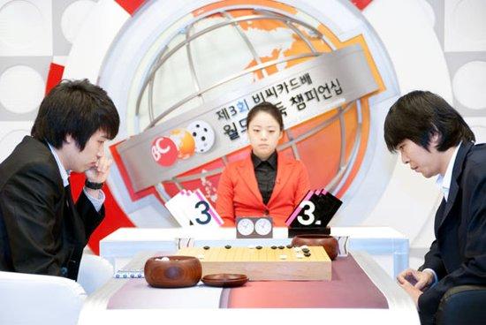 BC卡杯世界围棋公开赛 李世石完胜新锐进八强