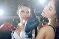 视频:2011世界体育小姐大赛拳击大片花絮2