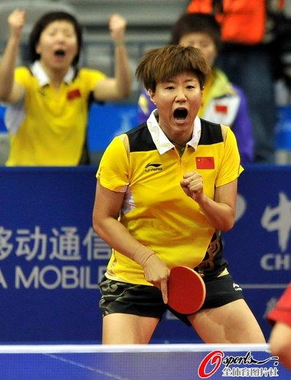 女乒3-0完胜复仇新加坡 第八次登顶亚运团体