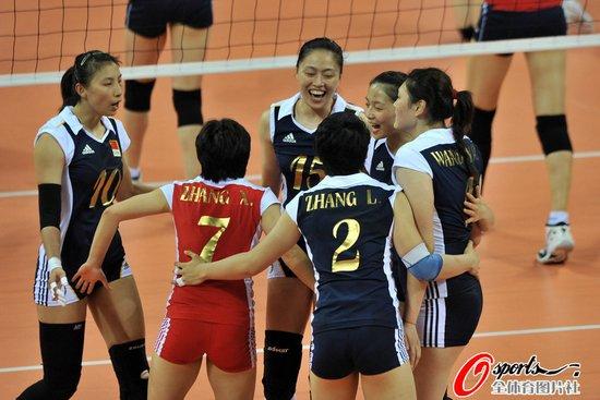 女排绝地反击3-2大逆转韩国 取小组赛两连胜