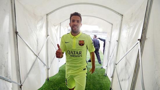 Alba: I hope to retire at Barcelona