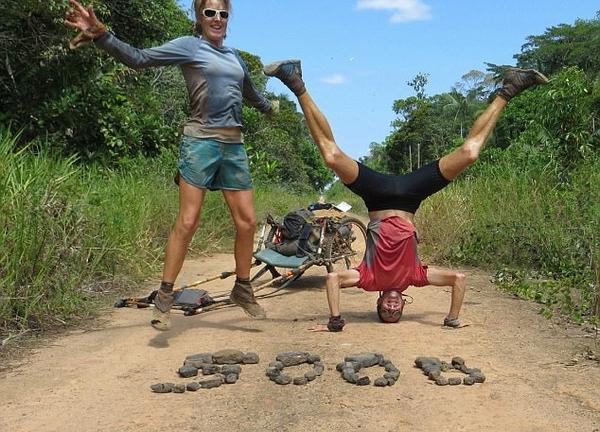 英夫妇跑步穿越南美洲:这是最美好自然的生活