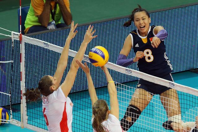 世锦赛中国女排力挫比利时 不失一局取三连胜