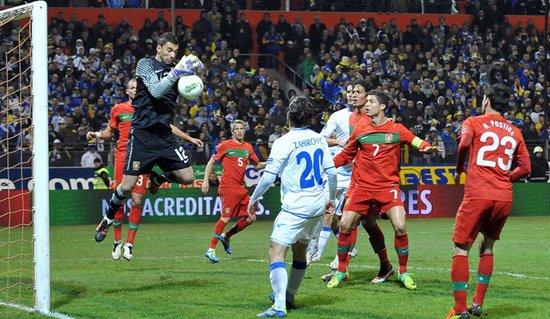 附加赛-波黑0-0闷平葡萄牙 场地糟糕拖累C罗