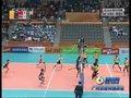 视频:亚运男排预赛中国对阵泰国第四局