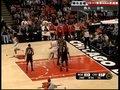 视频:热火vs公牛 吉布森反跑空位接球抛投