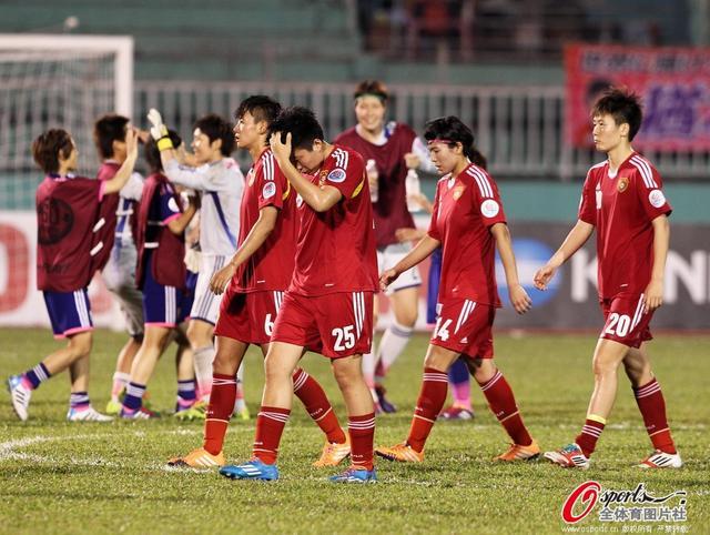 女足亚洲杯-中国1-2负日本 加时赛遭对手秒杀
