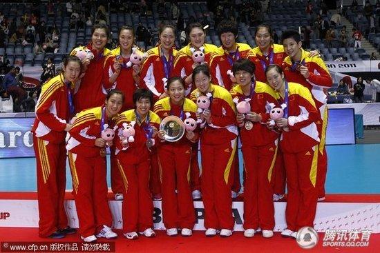 女排世界杯积分榜 中国26分列第三进军伦敦!