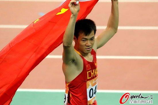 亚运男子百米首金! 劳义10秒24夺冠创造历史