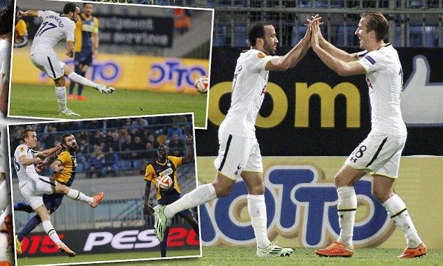 欧联杯综述-热刺埃弗顿取胜 佛罗伦萨提前晋级