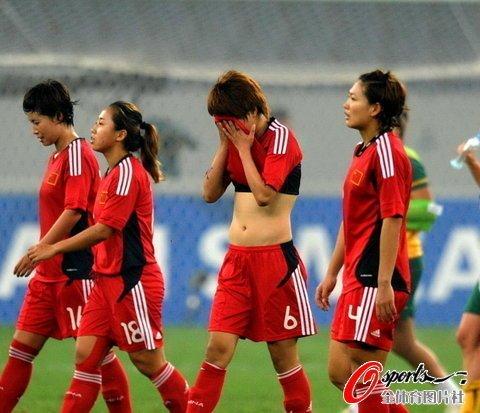 奥预赛-中国女足0-1澳大利亚 出线仅理论可能