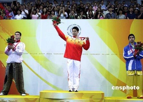 袁晓超:特意穿红色比赛服 先祝父母健康(图)