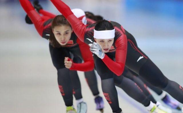 速滑-荷兰站次日中国双子星冲牌 日韩猛女死磕