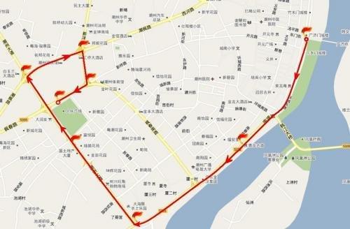 亚运火炬今晚抵达潮州 传递路线体现古城特色