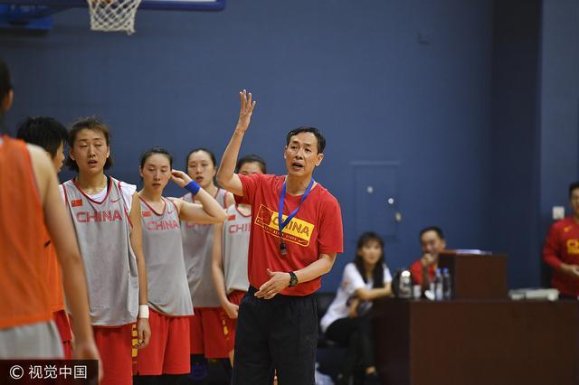 冲击日本!女篮忙备战 许利民重申亚洲杯目标