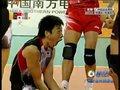 视频:男排1/4决赛 米山裕太发球得分狂喜