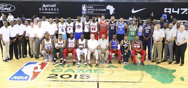 NBA公布非洲赛队长 诺天王沃克PK邓+瑞士军刀