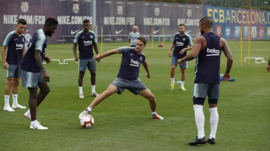 桑佩尔伤愈参加全队合练