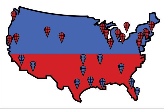 图说全明星阵容 美国球星称霸欧洲仅1人入选