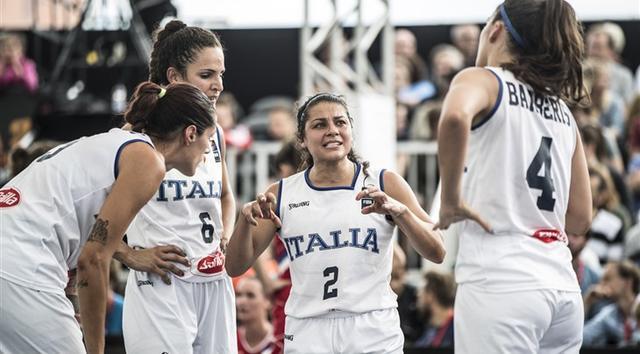 意大利女篮两战全胜 当选3X3欧洲杯次日最佳