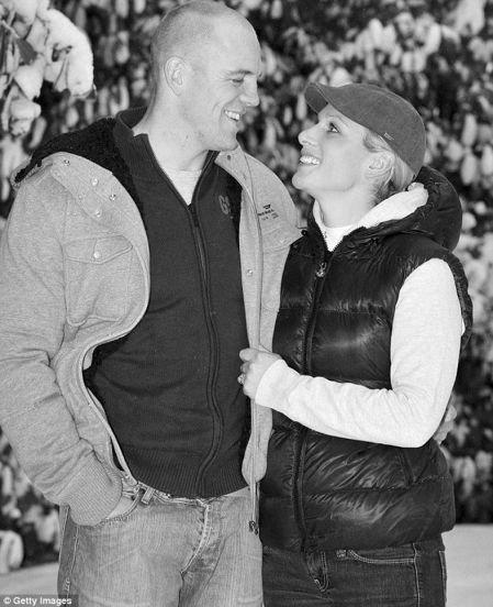马术公主要嫁橄榄球球星 未婚夫助她获冠军