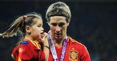 2012年欧洲杯金靴奖出炉:托雷斯加冕
