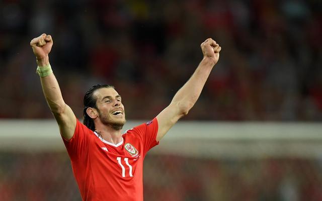 欧洲杯快递-威尔士3-1逆转比利时 红龙进四强