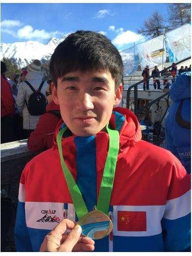 中国选手雪车世界杯获第7 有望冲击平昌冬奥