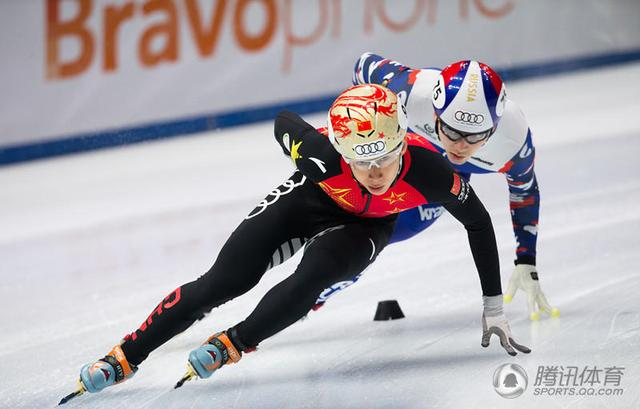 短道世界杯韩天宇1000米摘铜 韩国猛女成3冠王