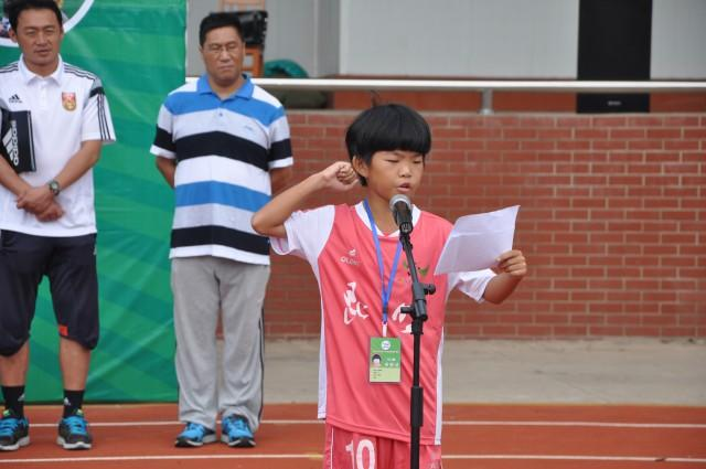 全国青少年校园足球夏令营玉溪营区正式开营