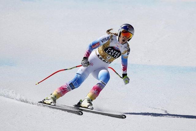 伍兹前女友欲战男子滑雪 女子比赛她已无敌手