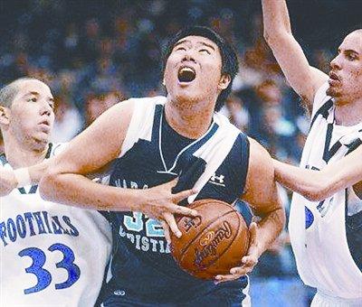 中国天才收黑金 遭美国篮坛禁赛