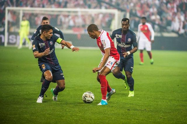 法联杯-巴黎4-1摩纳哥四连冠 卡瓦尼梅开二度