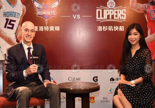 腾讯NBA六大美女记者之玲安:电影女神爱篮球