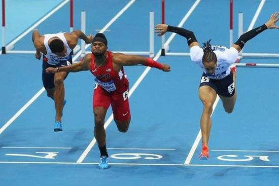 跳高_室内世锦赛60米栏美选手摘金 跳高张国伟第七