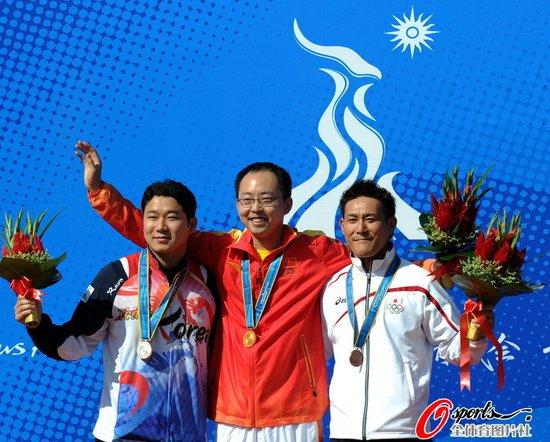蒲琪峰后来居上摘中国五金 庞伟低迷仅获第五